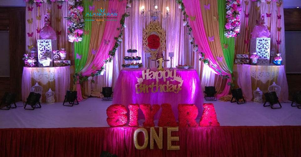 Planning 1 st Birthday Celebrations