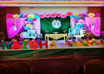 Birthday Party Stage Decorators Hyderabad