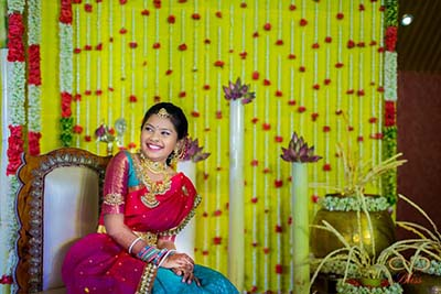 Saree Ceremony Decorations
